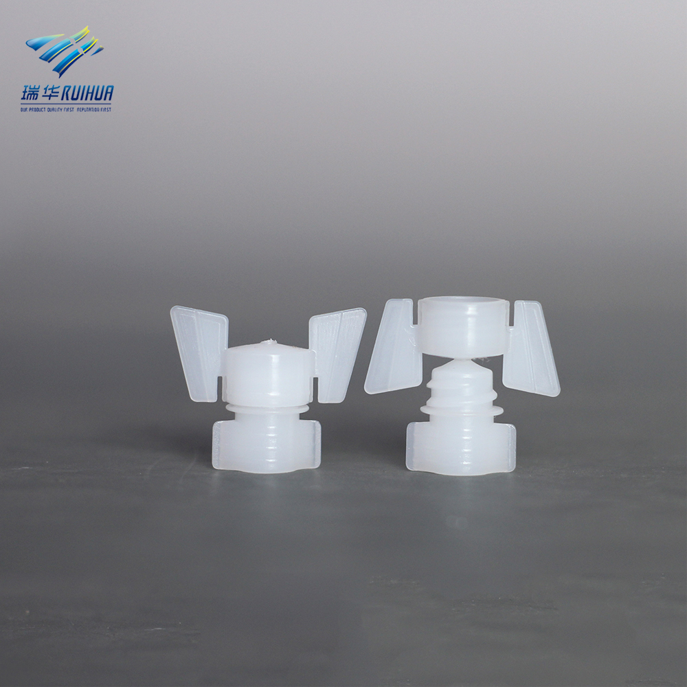 1.8mm mini plastic medical packaging spout for pouch