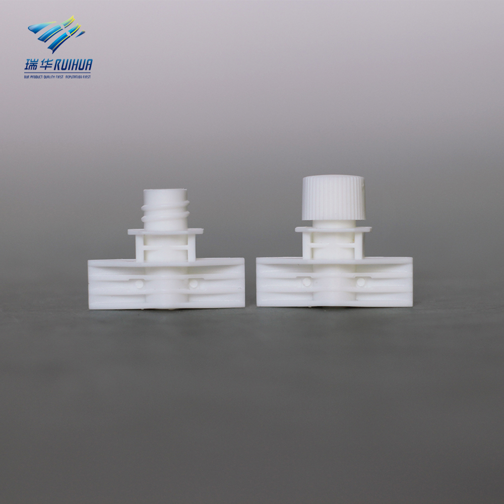 5.5 mm skin cream packaging bag small plastic spout