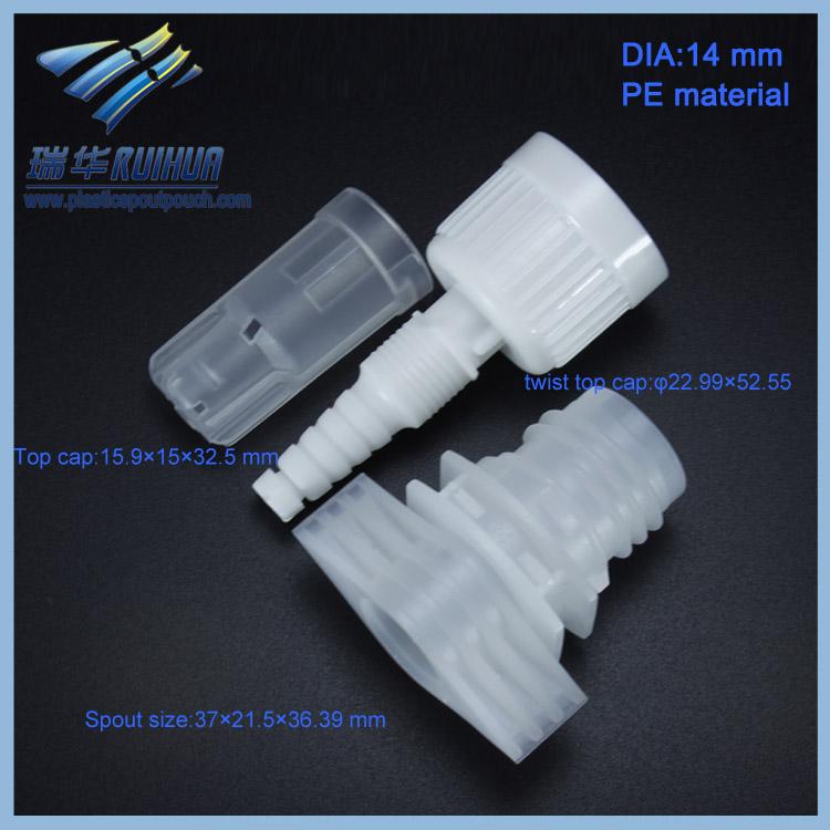 RD-025# 14mm Professional manufacturer plastic dropper spout