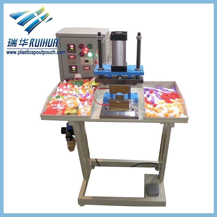 Shantou food packaging pouch spout sealing machine