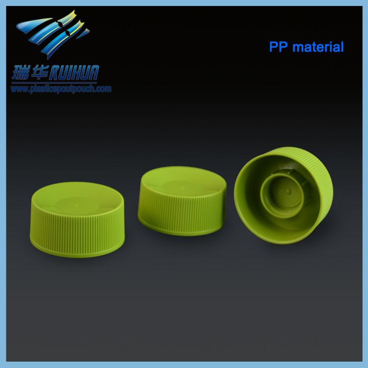 Low price shantou ruihua plastic screw cap for bottle